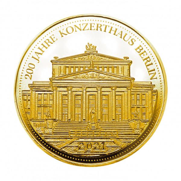 Sonderprägung Konzerthaus Berlin - Gold